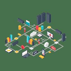 Conheça Nossos Serviços de Infraestrutura, trabalhamos com soluções nas plataformas Windows e Linux para te ajudar a chegar lá.